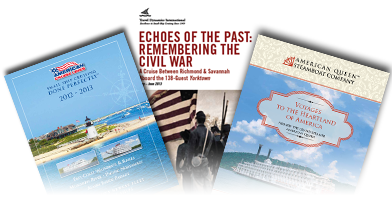 Get your free Civil War theme-cruises ebrochure today!